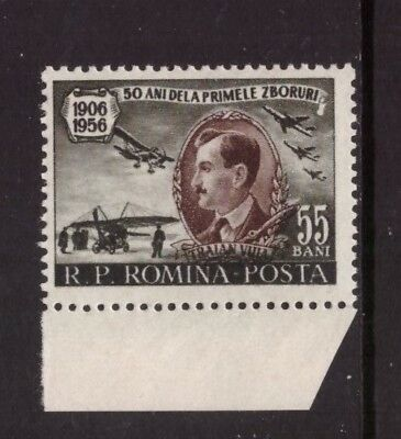 Romania MNH 1956 Aviaition,Traian Vuia mint  stamp