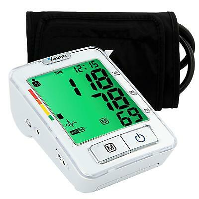 Vaunn Medical Upper Arm Blood Pressure Monitor with Cuff, Digital Automatic BPM
