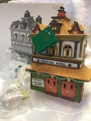 Department 56 Dickens Village Theatre Royal Sweet Nell of Old Drury theater Box