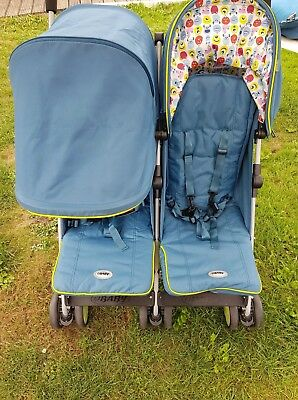 Monsters Inc Twin Stroller