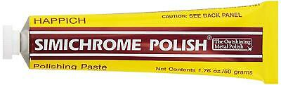Simichrome Polish - Polishing Paste for all Metals & Bakelite Testing - 50g Tube