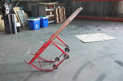 MECO W12P barrel drum dolly and stand