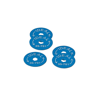 Ideal 35-781 Replacement Blades for 35-780, 5/card