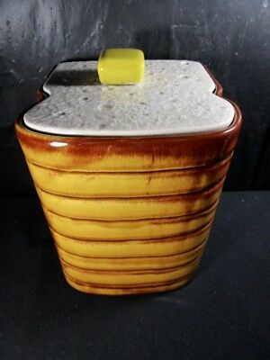 "USA  "" BREAD AND BUTTER ""  Cookie Jar  -  Never Used"