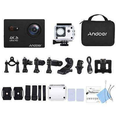 Andoer 4k Touchscreen Sports Action Camera With Waterproof Case