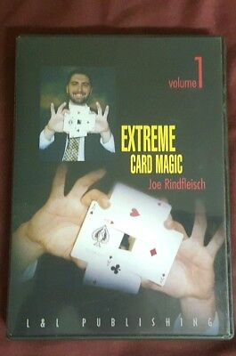 Joe Rindfleisch's Extreme Card Magic V1 Used
