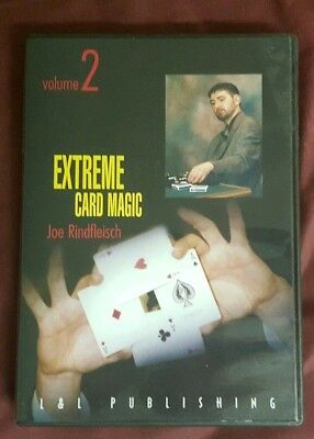 Joe Rindfleisch's Extreme Card Magic V2 Used