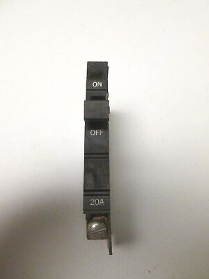 Square D XO120 XO Type Circuit Breaker 1 pole 20 amp 120 V