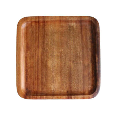 Natural Wood Dish Pizza Board Wooden Round Plate / Serving Food or Bakery