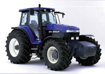 Ford New Holland 8670-8970 8670A-8970A Tractor Service Repair Technical Manual