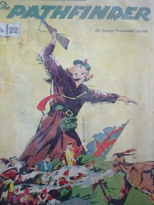"""Vintage 1950's """"The Pathfinder"""" No.22 Classics Illustrated"""