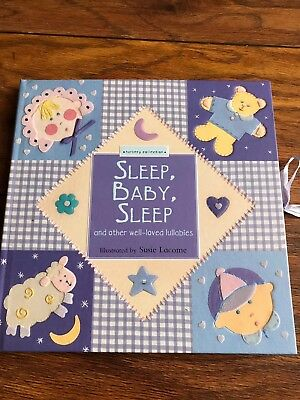 Lullaby Baby Book, Textured pages, Brand New, Ideal Gift - 36 Available