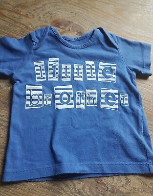 boys t shirt size 3-6 months by Marks and Spencer