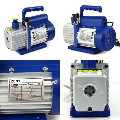 3CFM Electric Vacuum Pump Refrigerant R410a R134a HVAC Deep Vane Air Conditioner