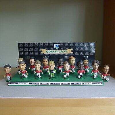 Corinthian football figures, Manchester United, 1995, good condition