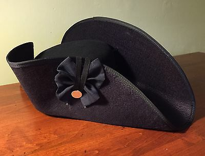Revolutionary War Soldier's Cocked Hat Made In USA.
