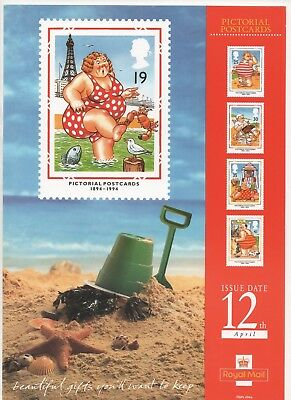 1994 Post Office A4 Poster Grille Card - Seaside Postcards
