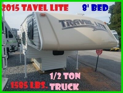 2015 Travel Lite Truck Campers 800X Series Used