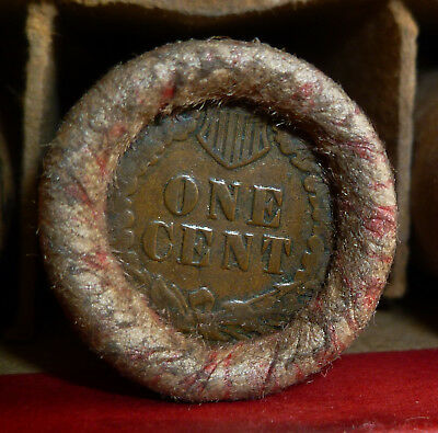 Very Nice Old Penny Roll for bid as pictured      ROLL # 6