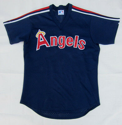 Vintage Official License Majestic Anaheim Angels Baseball Jersey - Large