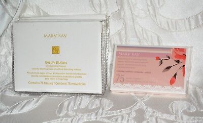 8 Mary Kay Beauty Blotters Oil-Absorbing 75 Tissues Each 600 TOTAL
