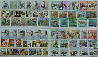 600+ topical mint stamps in complete sets (MNH) Composition  Lot
