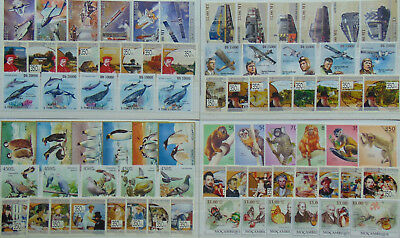 850+ diff. topical stamps MNH (100 cpl sets + 250 singles) Composition  Lot