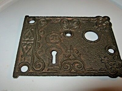 FRONT PLATE FOR VINTAGE C20 RIM LOCK - Eastlake Era Lot 2