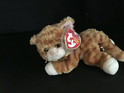 "TY TABBLES the CAT BEANIE BABY  MINT with MINT TAGS 6"" 2006 RETIRED"