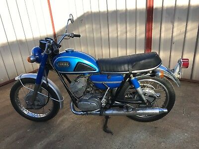 Yamaha DS6 250 1969 2 stroke twin goes great only done 20,243 klms from New