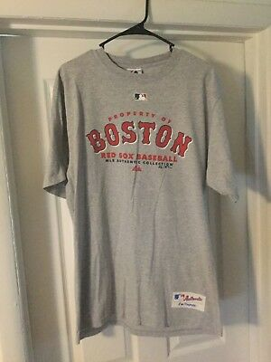 b5ad28175 MLB MAJESTIC BRAND Boston Red Sox Size 12 Months Baby Tee Shirt Red ...
