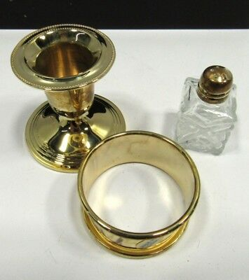 International China 62pc. Gold plated stainless steel DELUXE set