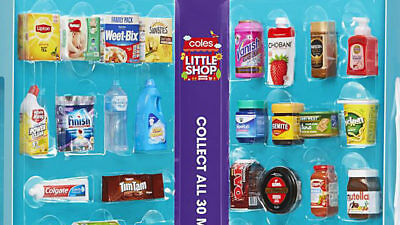 Coles Little Shop Mini Collectables - Perfect for your Family Collection