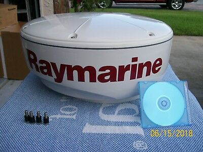 Raymarine RD418D Digital 4KW Radome PC: E92130, with mounting bolts, manual