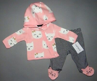 Baby girl clothes, 9 months, Carter's Little Baby Basics 2 piece set/New Arrival