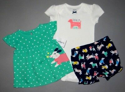Baby girl clothes, 6 months, Carter's Diaper Cover Set/ 1/2 OFF!!