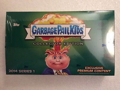 Garbage Pail Kids GPKs 2014 Series 1 Sealed Collectors Hobby Box