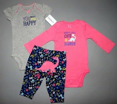 Baby girl clothes, Newborn, Carter's Little Baby Basics 2 piece set