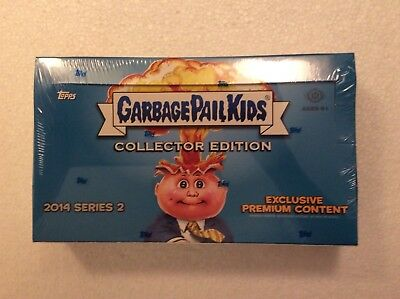 Garbage Pail Kids GPKs 2014 Series 2 Sealed Collectors Hobby Box
