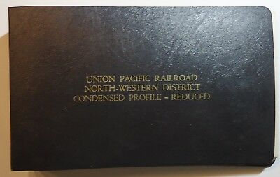 Union Pacific Railroad 1983 Condensed Profile - North-Western District