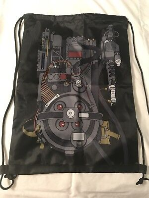 """Loot Crate Ghostbusters Proton Pack Drawstring Backpack June 2018 Exclusive 18"""""""