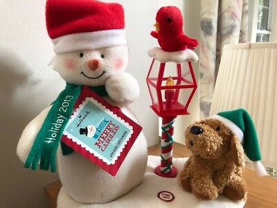 Hallmark Merry Carolers 2013 Trio Jingle Pals Plush with Sound, Light and Motion