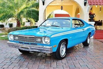 Plymouth Duster 340 Broadcast Sheet Low Miles Factory A/C Factory A/C Believed 21k Original Miles Power Steering & Brakes spectacular car