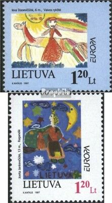 Lithuania 636-637 (complete issue) unmounted mint / never hinged 1997 Say