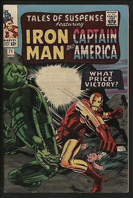 Tales Of Suspense #71  Nice Glossy Cents With White Pages. Wally Wood/kirby Art