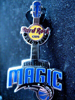 Hard Rock Cafe Orlando Magic NBA Series Guitar