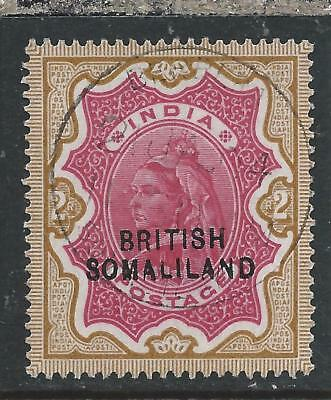 SOMALILAND 1903 2r CARMINE & YELLOW-BROWN SUPERB USED SG 22 CAT £200