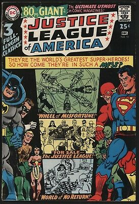 Justice League Of America #58 Classic Stories 80Pg Giant Inc Issue #1 Good Value
