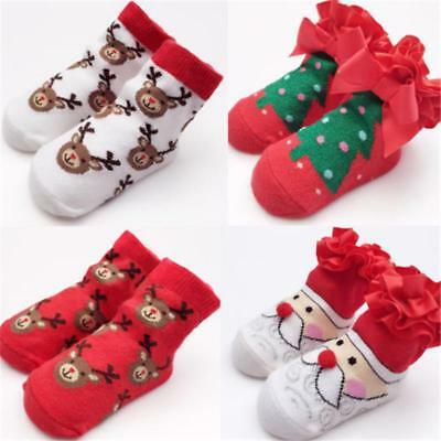 Gift Socks Kids Boy Girl Christmas Baby Newborn New Fashion Cartoon Pattern Type