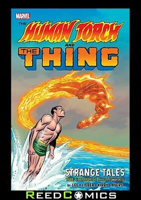 Human Torch And The Thing Strange Tales The Complete Collection Graphic Novel